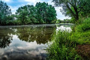 Фото бесплатно Рейнланд-Пфальц, Германия, река