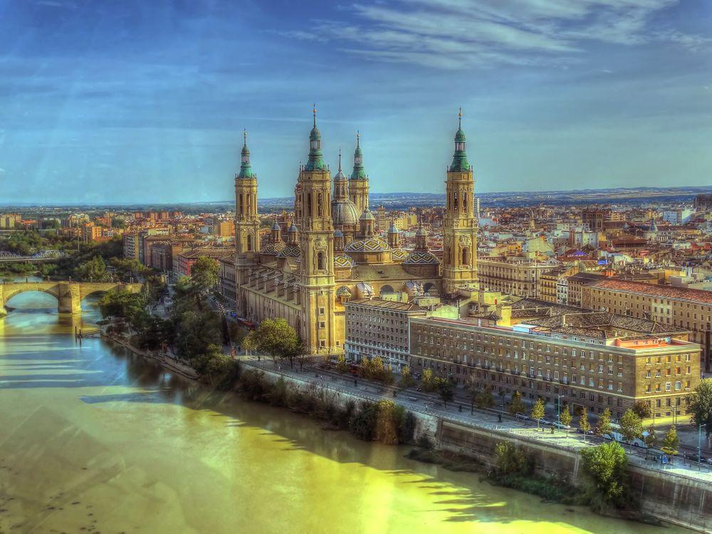 Фото бесплатно Сарагоса, Zaragoza, Испания, город