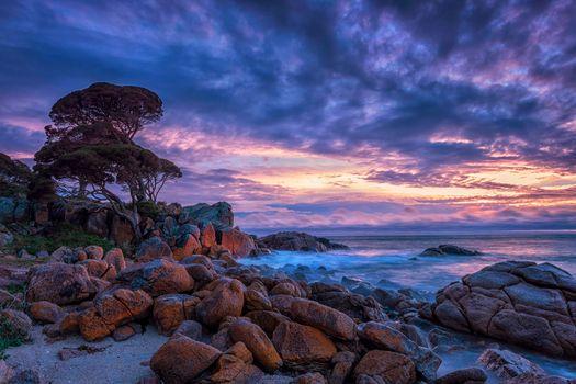 Бесплатные фото Шелли Коув,Западная Австралия,море,закат,небо,скалы,камни,волны,природа,пейзаж