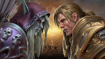 Бесплатные фото цифровое искусство,произведения искусства,видеоигры,Warcraft,World of Warcraft,World of Warcraft: битва за Азерот,Сильвана Ветрокрылая