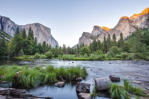 Photo free California, Merced river, landscape