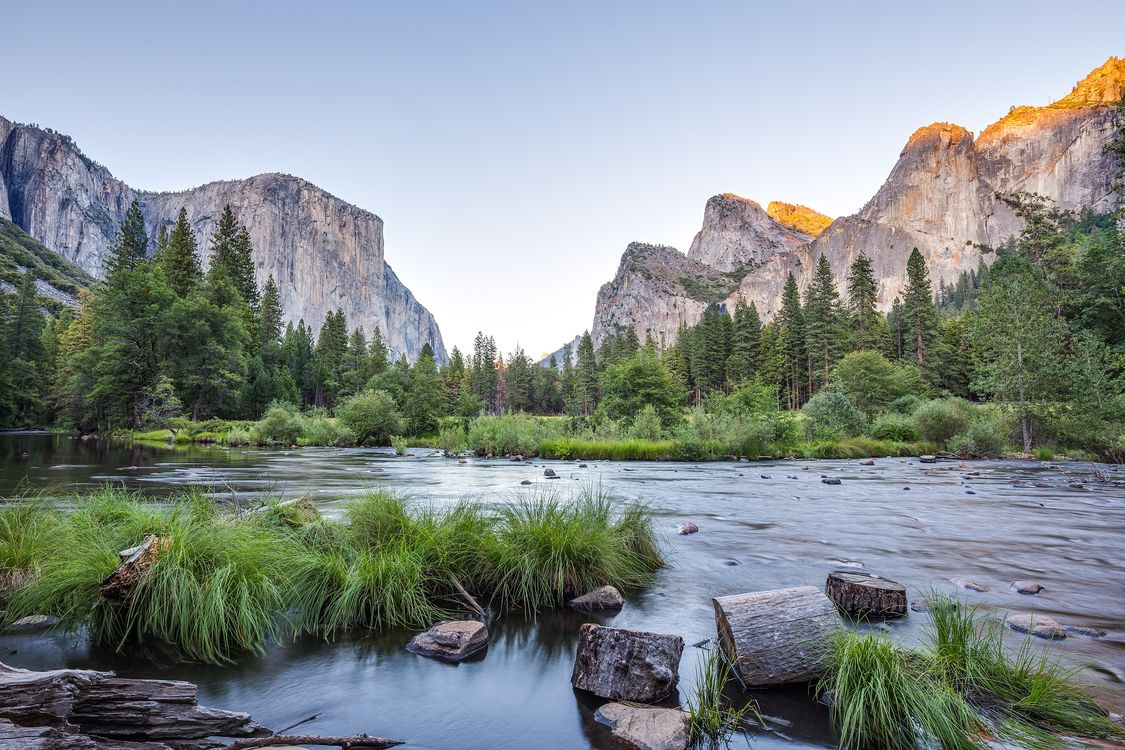 Photos for free California, Merced river, landscape - to the desktop
