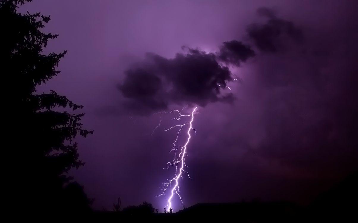 Фото бесплатно облака, молния, разряд - на рабочий стол