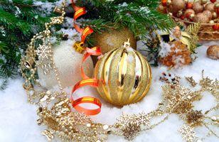 Фото бесплатно Рождество, украшения, фон