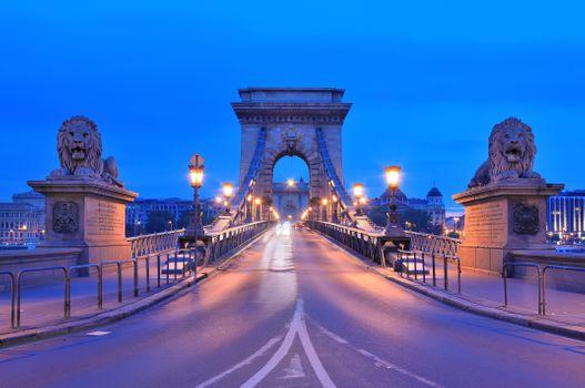 Вечерний Будапешт · бесплатное фото