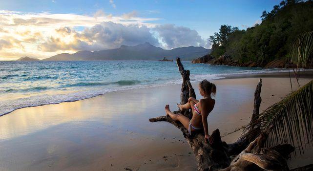 Фото бесплатно море, небо, тропики