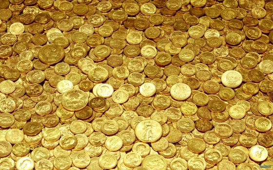 Photo free coins, gold, money