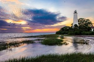 Photo free The St Mark s lighthouse, Florida, United States