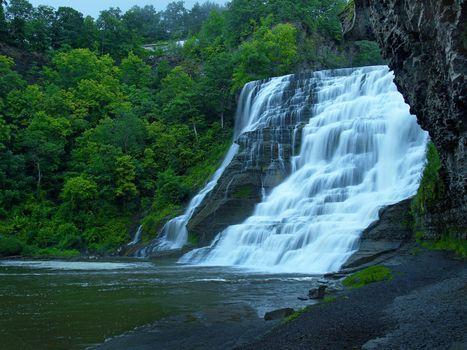 Фото бесплатно каскад, природа, водопад
