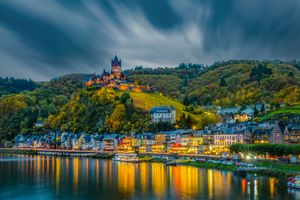 Photo free Cochem, Germany, in early autumn