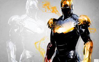 Заставки комиксы, Железный человек, Марвел, супергерой