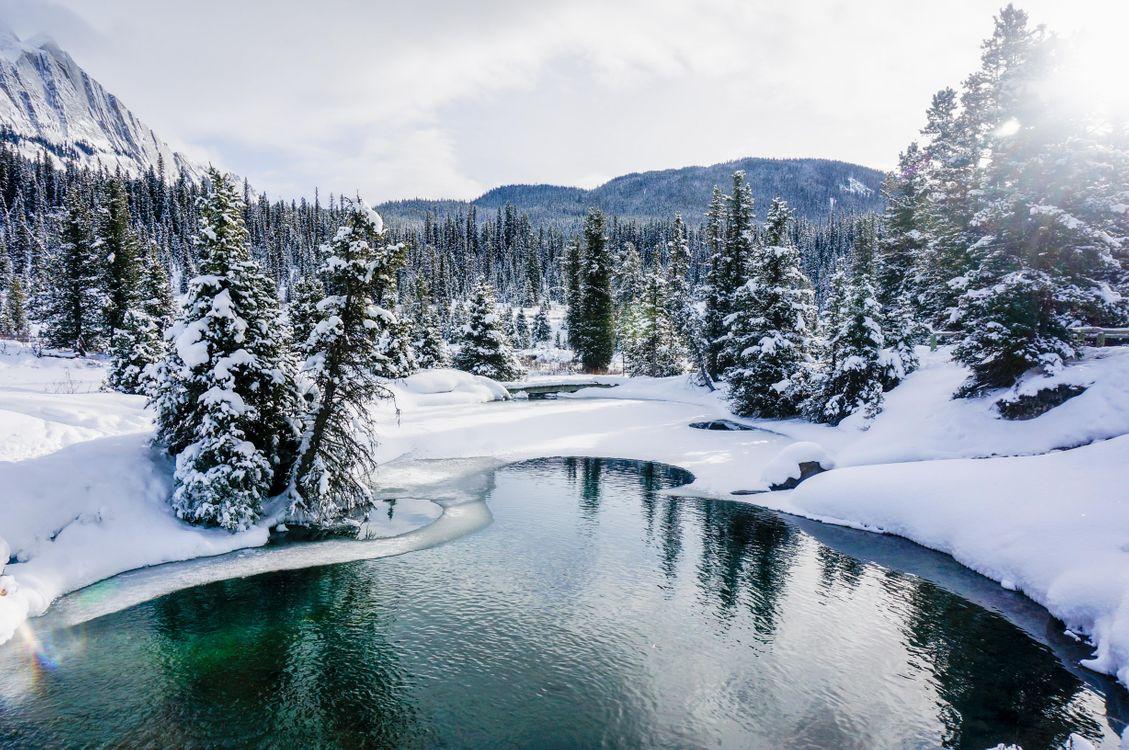 Фото бесплатно пейзаж, Banff национальный парк, озеро - на рабочий стол