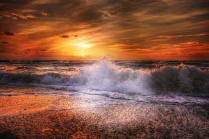 Заставки песок, небо, пейзаж
