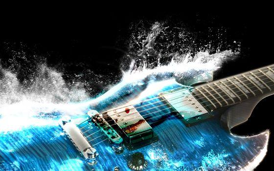 Photo free volny, gitary, most