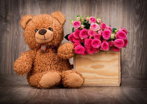 Заставки медведь, любовь, настроение