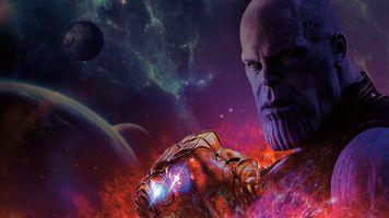 Photo free Thanos, Avengers Infinity War, 2018 Movies