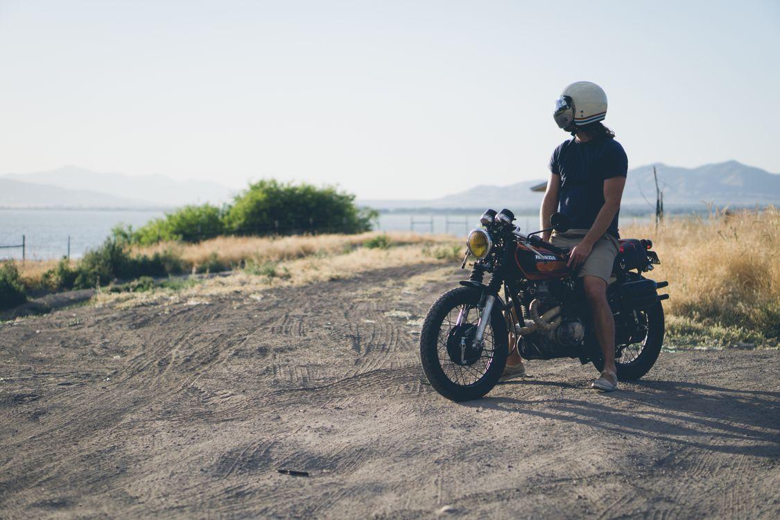 Photos for free car, bike, rider - to the desktop
