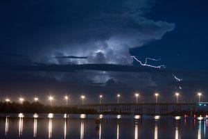 Фото бесплатно Флорида, облака, освещение