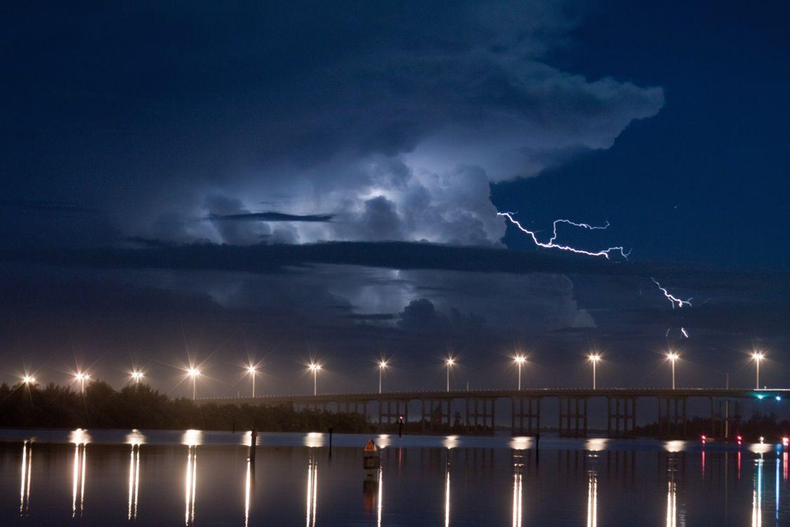 Фото бесплатно Флорида, облака, освещение - на рабочий стол