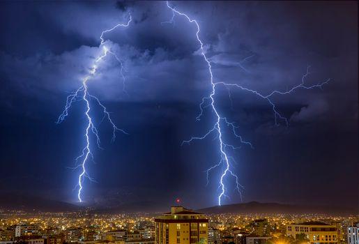 Заставки Municipio Cochabamba, Bolivia, ночь