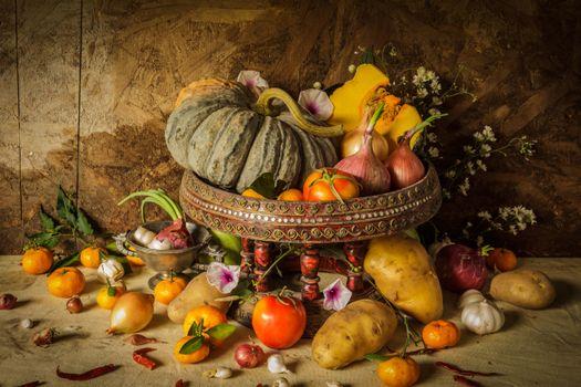 Autumn fruits · free photo