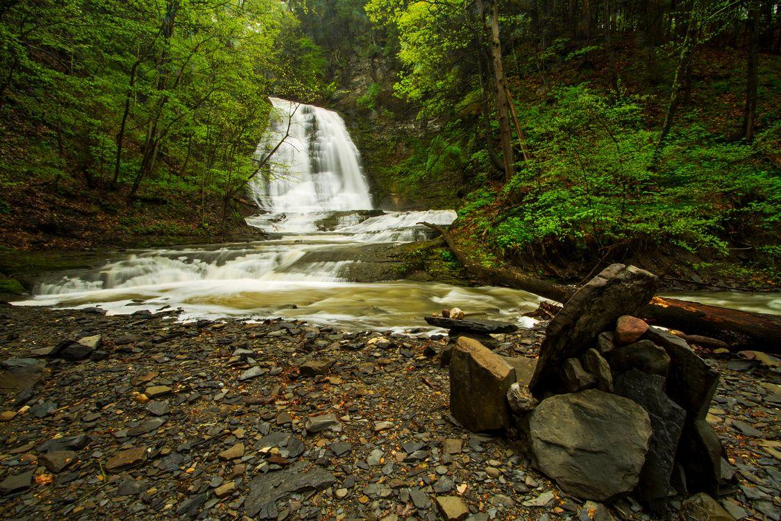 Картинки с водопадами · бесплатная заставка