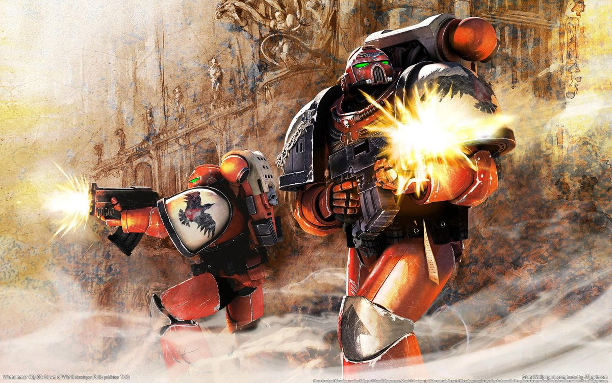 Обои Warhammer 40, 000, космические морские пехотинцы картинки на телефон