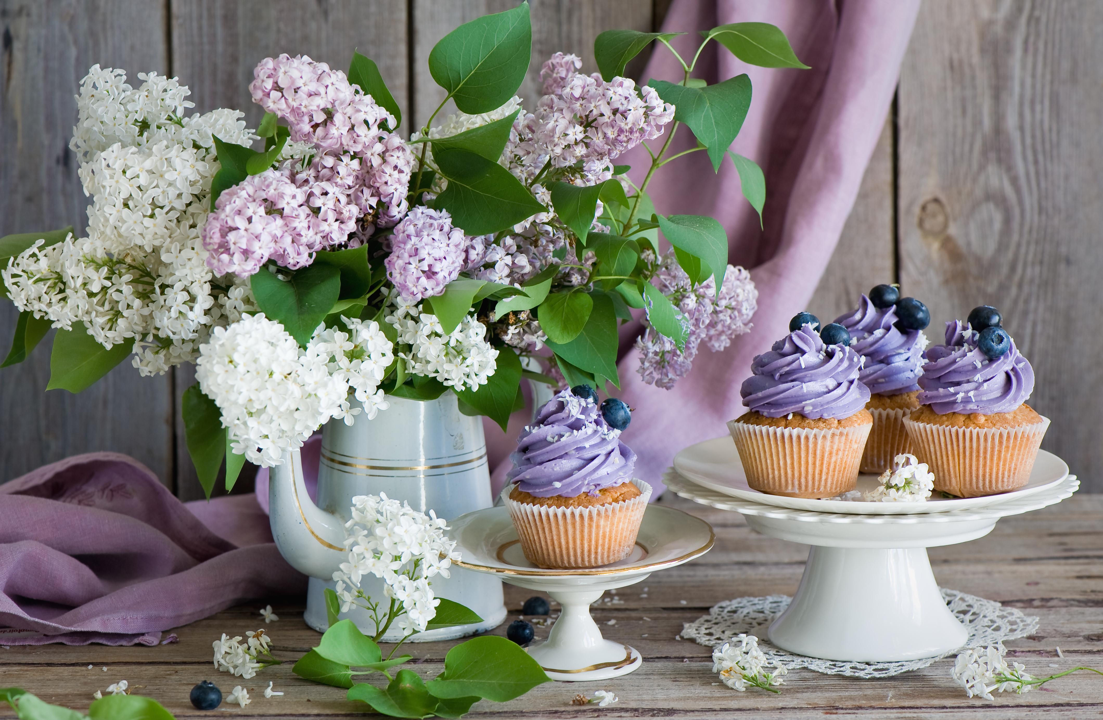 природа цветы сирень сахар блюдо  № 1154279 без смс