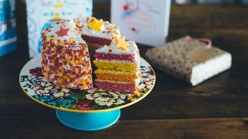Photo free cake, colorful, dessert