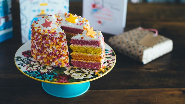 Photo free cake, colorful, dessert
