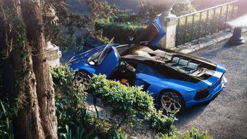 Фото бесплатно Автомобили, Behance, Lamborghini Aventador
