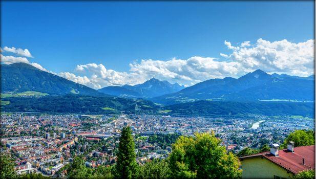 Фото бесплатно Инсбрук, Австрия, город
