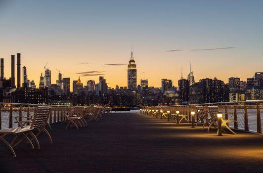 Фото бесплатно Нью-Йорк, городской пейзаж, здание