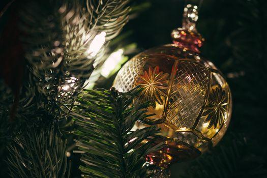 Photo free new year, Christmas tree, Christmas decorations