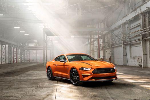 Фото бесплатно Ford Mustang, автомобили, передняя часть