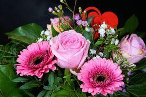 Фото бесплатно букет, цветочная композиция, оригинал