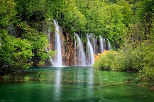 Фото бесплатно Хорватия, национальные озера парк Плитвицкие, Национальный парк Плитвицкие озера