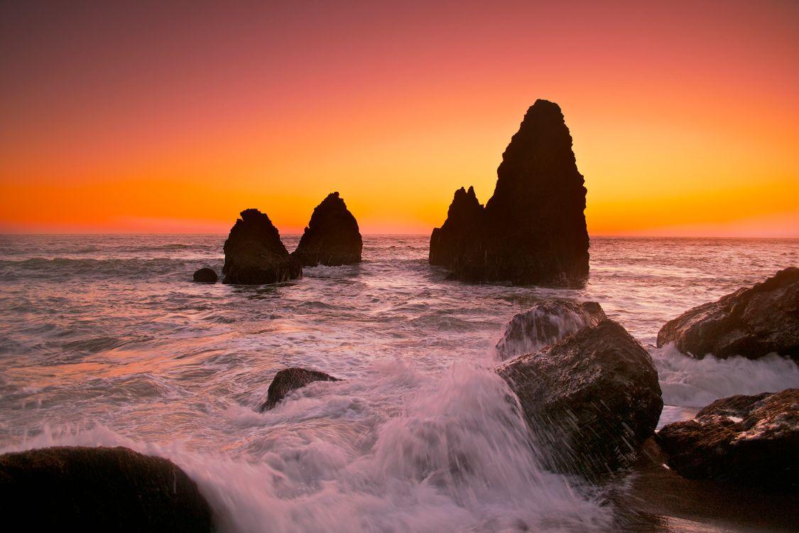 Летний морской пейзаж · бесплатное фото