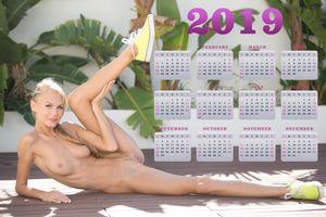 Бесплатные фото Nancy Ace,Нанси,Джейн Ф Эрика,блондинка,природа,голая,грудь