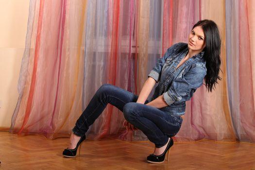 Фото бесплатно Никол А, сексуальная девушка, красота