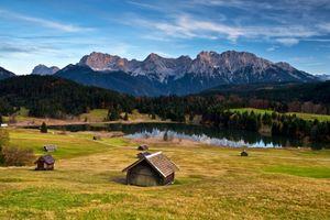 Фото бесплатно сельской местности, Германия, дома