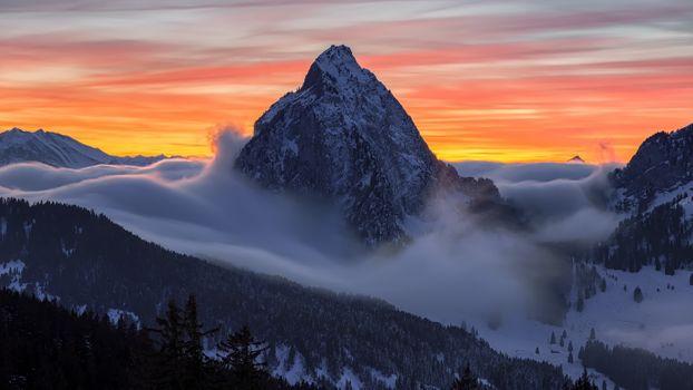 Фото бесплатно Switzerland, панорама, альпы