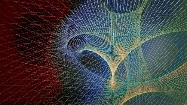 Фото бесплатно синий, рендеринг, визуализация 3d