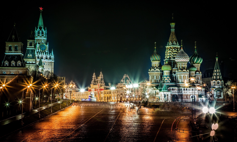 Красивые обои на российской фотографии спутниковой