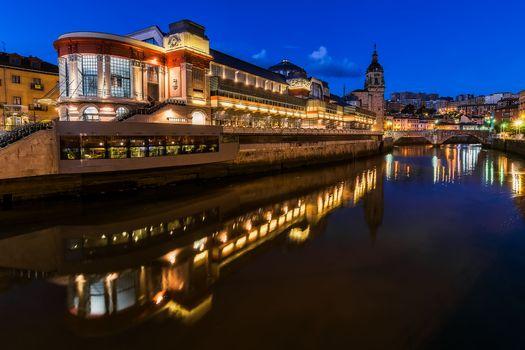 Бесплатные фото Бильбао,Испания,Рынок Рибера