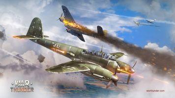 Фото бесплатно War Thunder, самолет, гайджинские развлечения