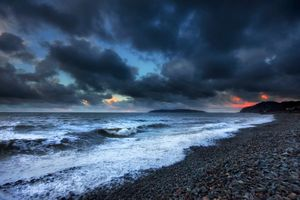 Фото бесплатно пляж, волны, берег