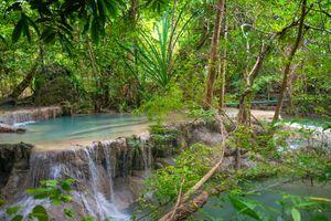 Photo free Erawan waterfall, Erawan National Park, Kanchanaburi