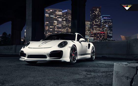 Фото бесплатно Porsche, Cars, белый