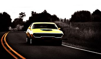 Фото бесплатно plymouth gtx, мускулкар, автомобиль